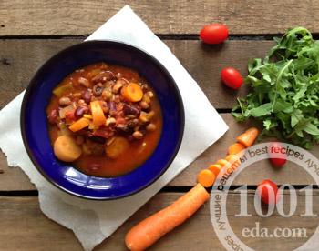рецепт салата с лобио на зиму