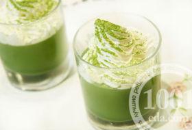 Тирамису с зеленым чаем