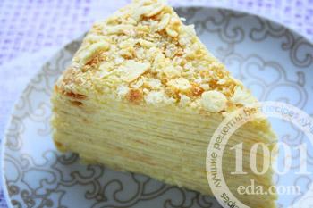 рецепт торта наполеон бабушкин рецепт