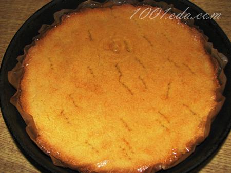 Сметана манка пирог с