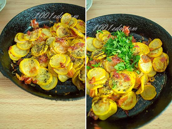 горячий салат с языком рецепт с фото