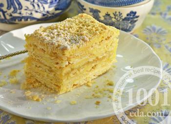 Рецепт слоеных пирожных с кремом Шантильи