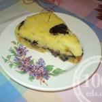 Картофельная запеканка с грибами: рецепт с пошаговым фото