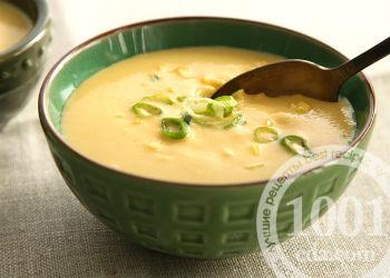 Рецепт быстрого кукурузного супа