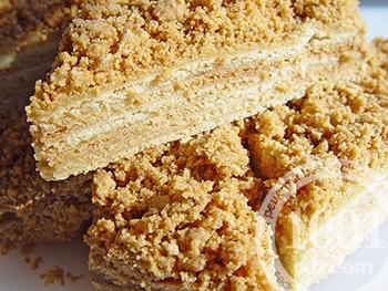 Торт наполеон на меду рецепт