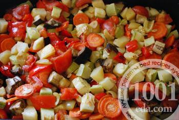 Запеченные овощи: рецепт с пошаговым фото