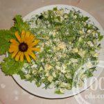 Салат яичный с огурцом: рецепт с пошаговым фото