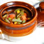 Тушеная говядина с овощами в горшочках: рецепт с пошаговым фото