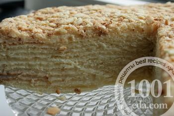 мокрый наполеон торт рецепт