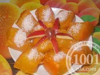Рецепт сладкой тыквы в мироволновке