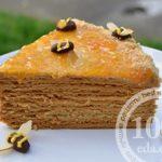 Торт Наполеон со сгущенкой