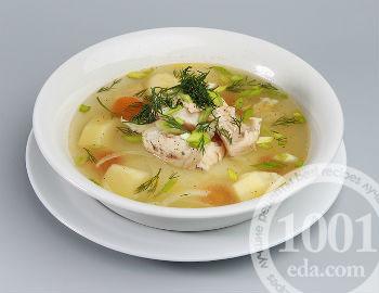 рецепт детский рыбный суп из