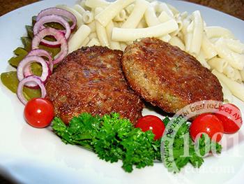 котлеты рецепт из мяса с овощами в