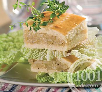 Начинка для пирога из свежей капусты и рыбы