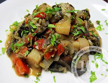 Что приготовить из баклажанов и грибов рецепты с фото