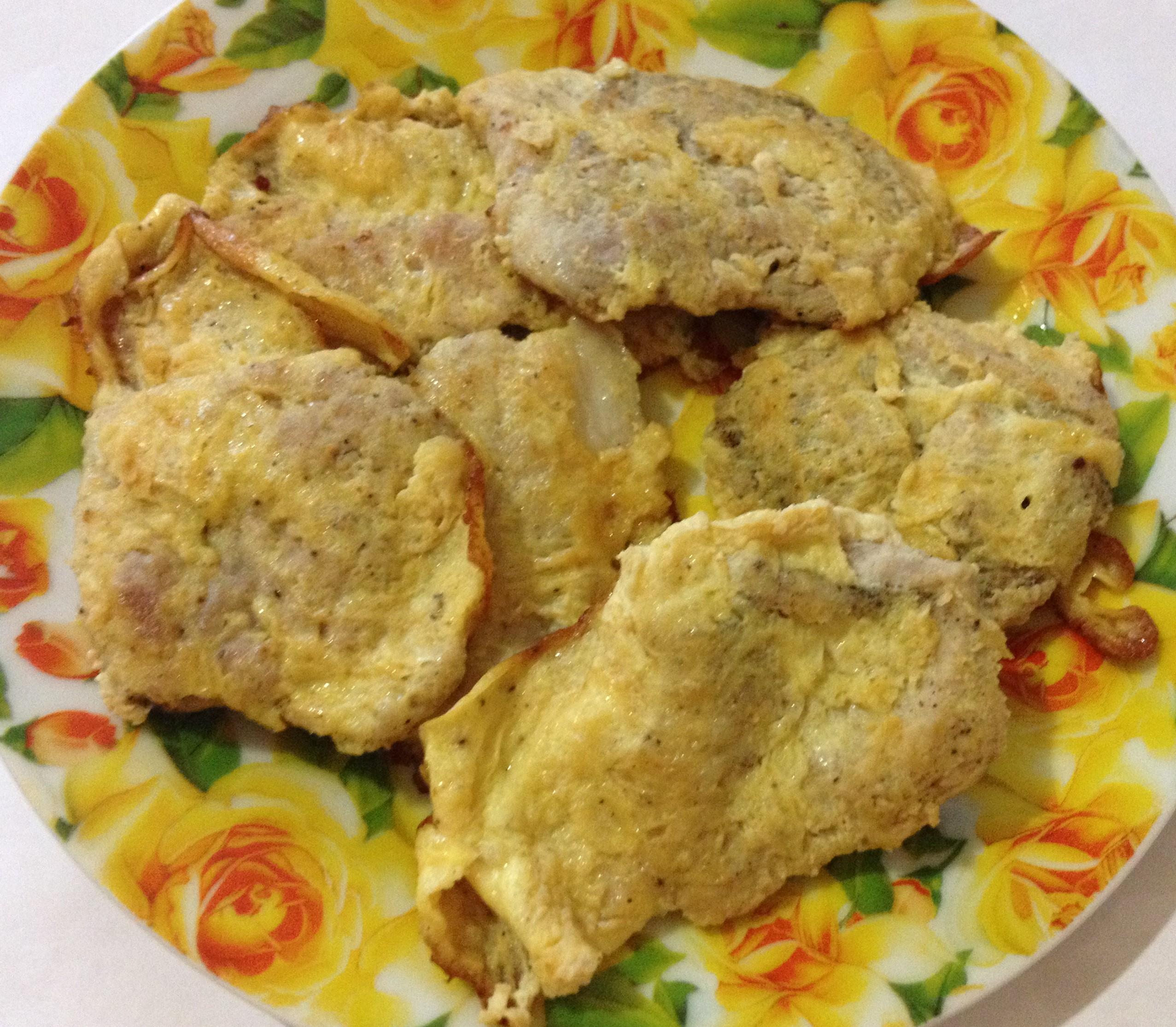 Отбивные из свинины в яйце фото рецепт пошаговый
