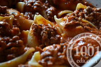 Как приготовить макароны фарширвоанные на сковороде