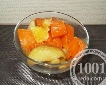 десерт тыква с апельсином в мультиварке рецепты