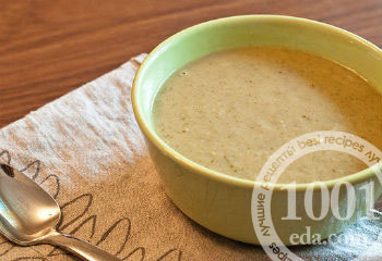 Рецепт детского супа-пюре с макаронами