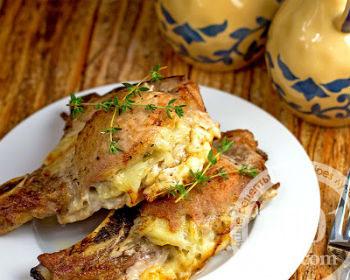 Отбивные из свинины в духовке с сыром