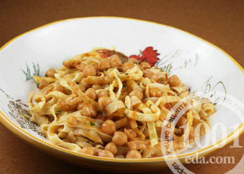 Вегетарианские макароны по-флотски