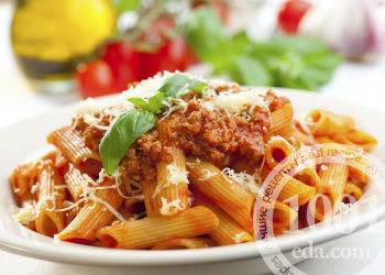Макароны с фаршем по-итальянски