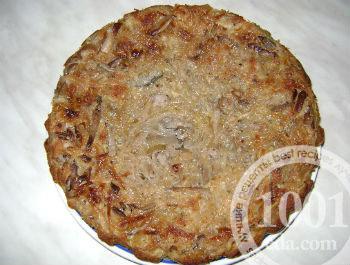 Простой капустный пирог