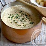 Грибной суп-пюре из шампиньонов с сыром