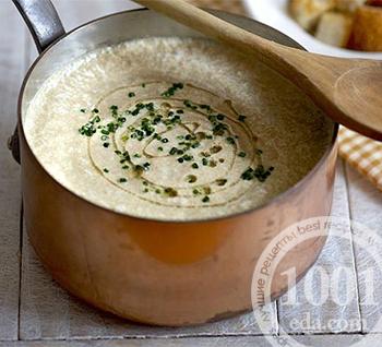 Крем-суп из печёной тыквы и картофеля с плавленым сыром, пошаговый рецепт с фото