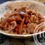 Свинина с яблочным соусом: рецепт с пошаговым фото