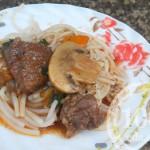 Говядина с грибами в мультиварке: рецепт с пошаговым фото