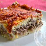 Картофельно-мясная запеканка с рикоттой: рецепт с пошаговым фото