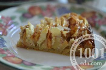 Осенний яблочный торт