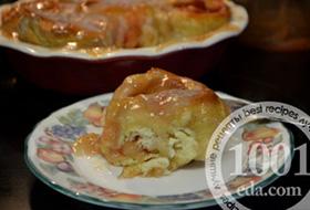 Яблочные сладкие клецки: рецепт с пошаговым фото