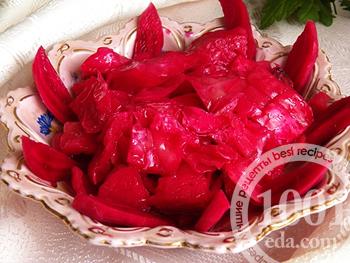 Как приготовить Капуста по-гурийски со свеклой рецепт