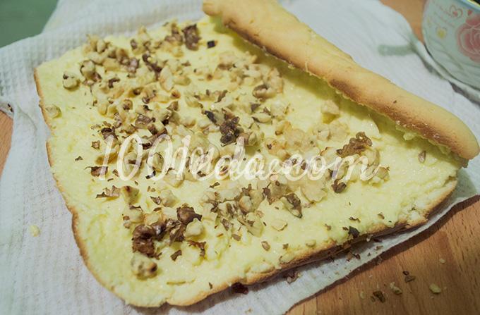 Рецепты рулет с орехами с пошагово
