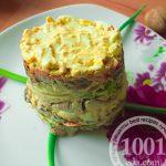 Салат из свинины с луком-пореем: рецепт с пошаговым фото