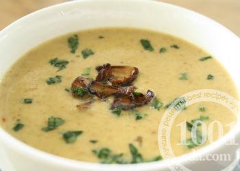 Рецепт вкусного грибного супа с мясом
