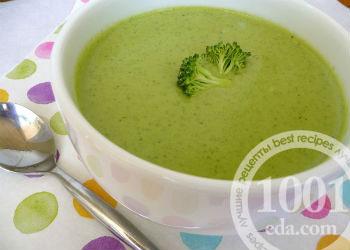 Детский суп-пюре из брокколи