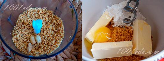 """Печенье """"Гнездо снеговика"""" – кулинарный рецепт"""