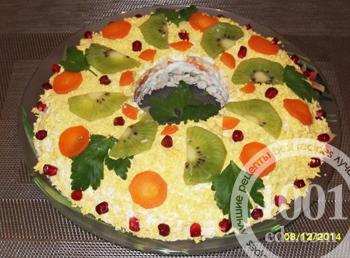 Блюдо с кабачками и фаршем в духовке