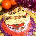 Торт Наполеон закусочный: эконом-вариант