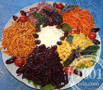Рецепт экономного витаминного салата