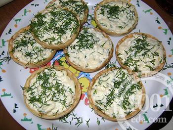 """Тарталетки """"Праздничные"""" – кулинарный рецепт"""