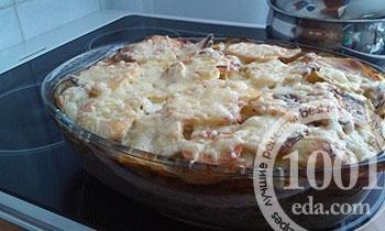 Как приготовить картофельную запеканку с фаршем  на обед