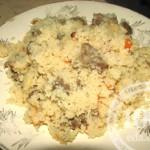 Кускус с мясом: рецепт с пошаговым фото