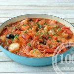 Рагу с рыбой и овощами