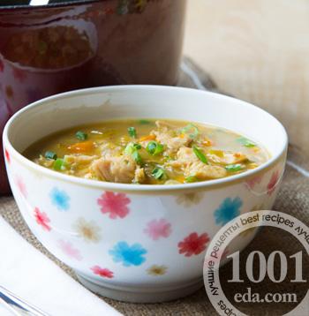 Суп чили с курицей