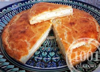 Быстрый пирог Два сыра