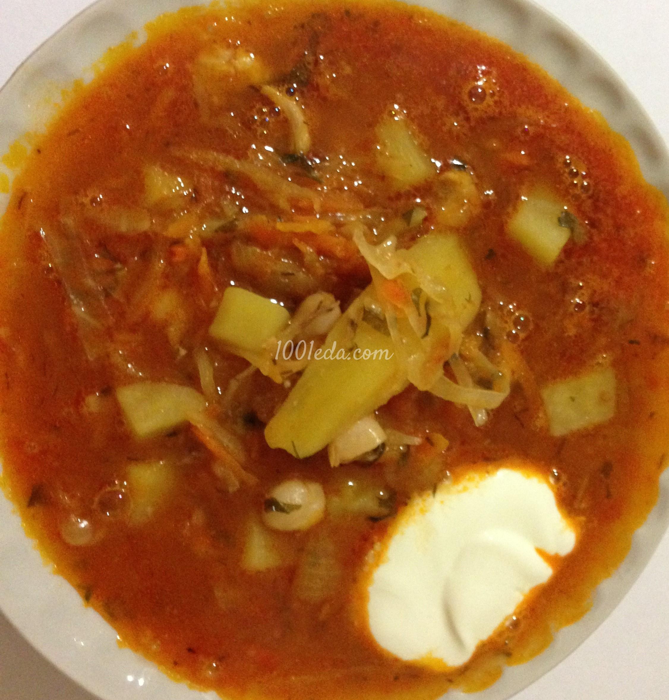 Борщ с мясом и фасолью рецепт пошаговый с